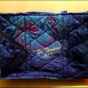 🌟St.Thomas Beach Bag Cloth 2 Straps w/ wristlet